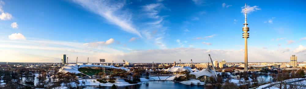 Panoramablick Olympiagelände - ©Ralf Stein